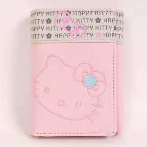 Hello Kitty Trifold Mini Wallet Card Holder Pink Toys
