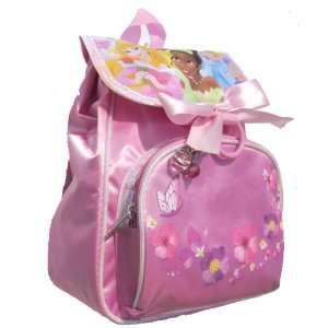 Disney Princess Mini Toddler Pink Tote Backpack 12 Inch