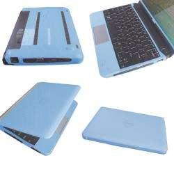 SKQUE Dell Mini 10/ 10V Blue Laptop Silicone Skin Case