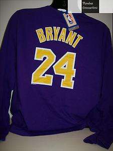 LAKERS WOMENS L/S KOBE BRYANT JERSEY SHIRT 1X LA PURPLE