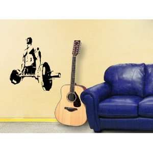 Wall Mural Vinyl Sticker Decal Powerlifting Gym Sport Sign A1342