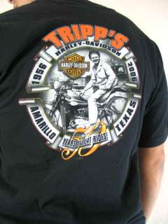 Harley Davidson Motorcycles Freedom Tripps Amarillo Texas S/S T Shirt