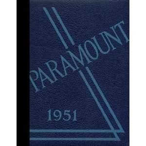 Reprint) 1951 Yearbook Grandville High School, Grandville, Michigan