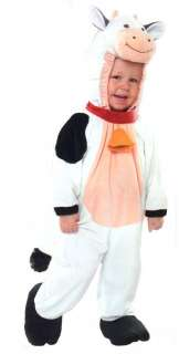 Soft COW 6 12 mos Infant Baby Costume Farm Animal