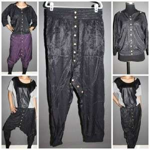 Garcons comme le fashion 2way asymmetric button des Shimmer fun pants