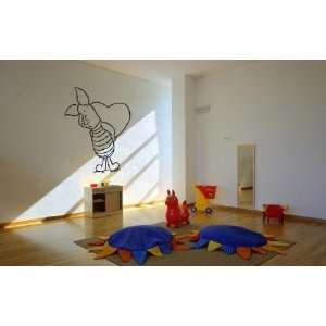 Winnie the Pooh Piglet Caring Heart Wall Mural Vinyl Decal