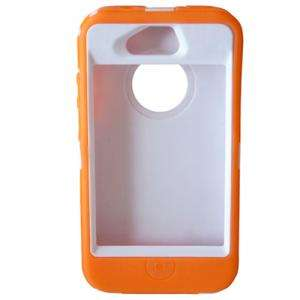 Hard Case Cover With Rubber Skin For iPhone AT&T Verizon Sprint 4S 4 S