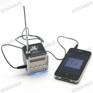 Micro SD TF USB Mini Speaker Music Player Portable FM Radio Stereo PC
