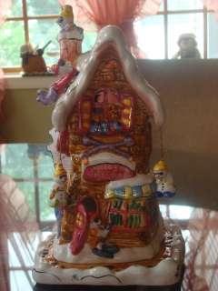 CHRISTMAS IN COBBLESTONE VILLAGE SKI SHOP TEA LIGHT