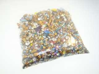 Austrian Crystal Jewelry Stones Mixed Lot 2500+pcs BIN
