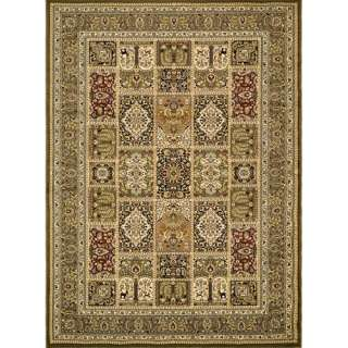 Safavieh Lyndhurst Panel Rectangular Area Rug, Green Decor