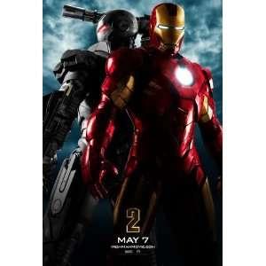 Iron Man 2 Robert Downey Jnr Gwyneth Paltrow Original Movie Poster