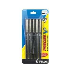 Pilot Precise V7 Rollerball Pens, Fine Black 12/pk Office