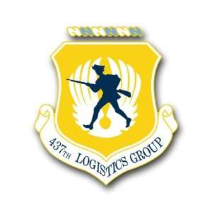 US Air Force 437th Logistics Group Decal Sticker 3.8 6