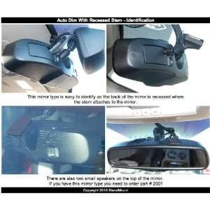 Dodge/Chrysler/Jeep Recessed Stem Mirror Automotive