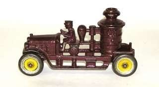 Kenton Cast Iron Fire Pumper Truck – Nice! NO RESERVE (DP)
