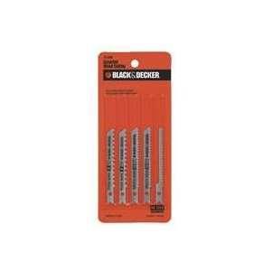Black & Decker 5 Pack Jig Saw Blades   Wood Assortment Part No. 75 530