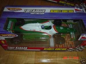 HOT WHEELS Remote Control Race Car Tony Kanaan 711 NEW