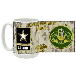U.S. Army 3rd Armored Cavalry Regiment Coffee Mug Kitchen