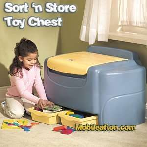 Blue/Yellow Toy Box Baby