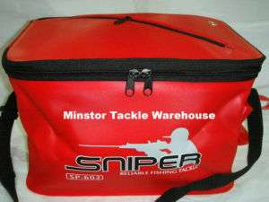 SNIPER SP602 EVA Live Bait Fishing Bucket (RED)