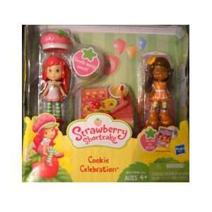 Shortcake Mini Doll Baking Berry Cookies Figure Set Toys & Games