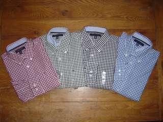 New NWT TOMMY HILFIGER LS Mens Dress Shirt Oxford Classic Button Down