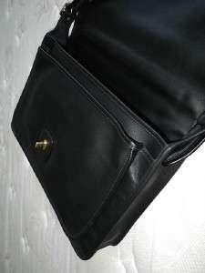 NWT Coach Classic BLACK Metro Business Travel Portfolio Messenger Bag