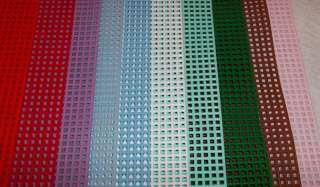 DARICE PLASTIC CANVAS SHEETS