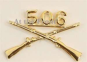 WWII 506th Officer Branch Insignia, New