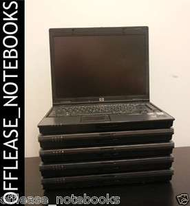 Wholesale lot of 5 HP 6910p Laptop Dual Core 2 Duo T7300 2.0ghz DVD