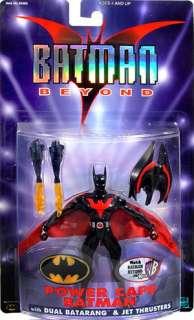 BATMAN BEYOND POWER CAPE BLACK BATMAN 6 ACTION FIGURE