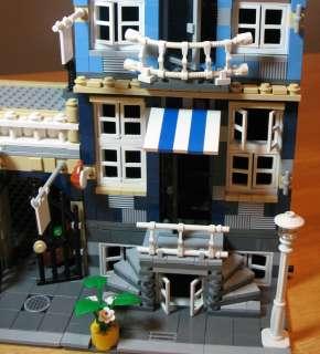 Lego Market Street 10190 Creator Factory Modular House City Town