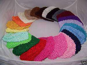 COLOR newborn baby CROCHET waffle BEANIE kufi HAT cap GIRLS BOY new