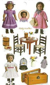 AMERICAN GIRL ADDY STICKERS PARTY FAVORS~GIFT BAGS