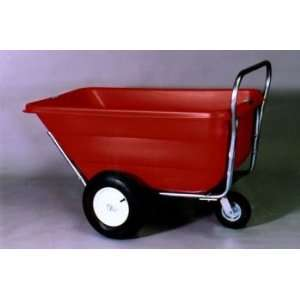 Push Cart 3rd Wheel 11.5 cu. ft. Rib Tire w/ tube (Black