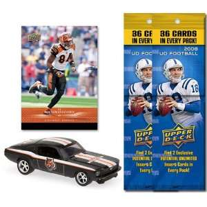 NFL 1967 Ford Mustang Fastback w/Trading Card & 2 2008
