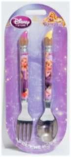 Disney Rapunzel Tangled Kids Fork & Spoon Set NEW