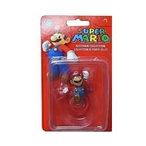 Super Mario Series 2 Mini Figure Keychain Mario Leaping: Toys & Games