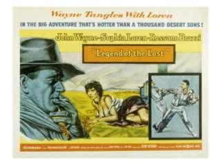 Legend of the Lost, John Wayne, Sophia Loren, 1957 Premium Poster