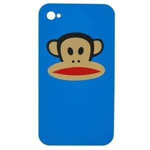 Monkey iPhone 4 Hard Case Cover Only Blue Black Red Cell