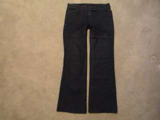 ANN TAYLOR Modern Fit Lindsay Low Rise Boot Cut Stretch Jeans ~ sz 0 P
