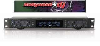 Technical Pro 1U Rack Mount dB Display + 8 Outlet Surge Decibel