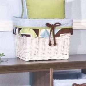 Brandee Danielle Modern Baby Boy Wicker Basket