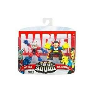 Marvel Super Hero Squad Ant Man and Dr. Strange Toys
