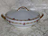 ANTIQUE NORITAKE CHINA REGINA ROUND COVERED VEGETABLE BOWL LID VINTAGE