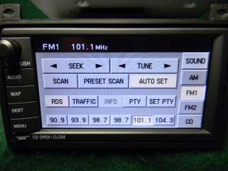 Ford 04 Lincoln TOWN CAR NAVIGATION 6 CD Radio DVD