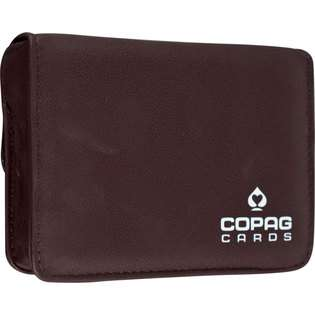 Unknown Copag High Quality Leather Two Deck Playing Card Case at