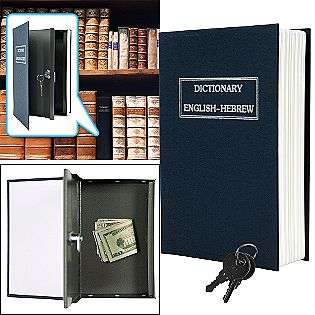 Dictionary Diversion Book Safe w/ Key Lock   Metal  Tools Home