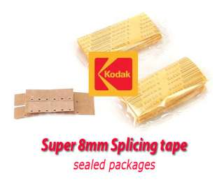 Splicing Tape for SUPER 8mm Super8 Film  NEW in Pkg